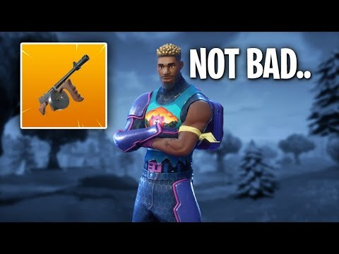SVENNOSS TRIES THE TOMMYGUN FOR THE FIRST TIME!!! Fortnite Battle Royale Gameplay - Svennoss