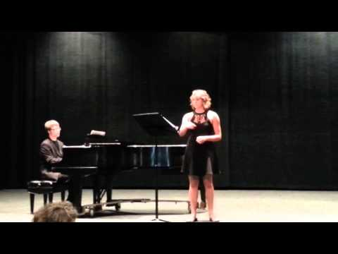 2013 U of W Recital, I Can't Say No from Oklahoma the Musical