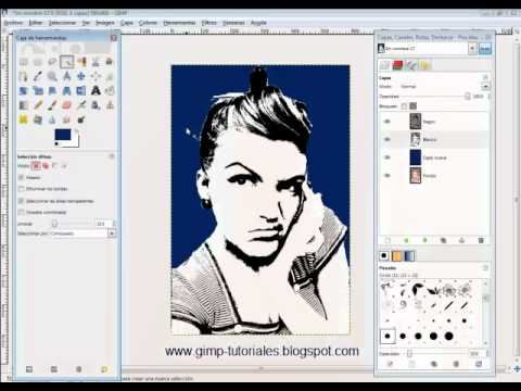 gimp how to cut out part of an image