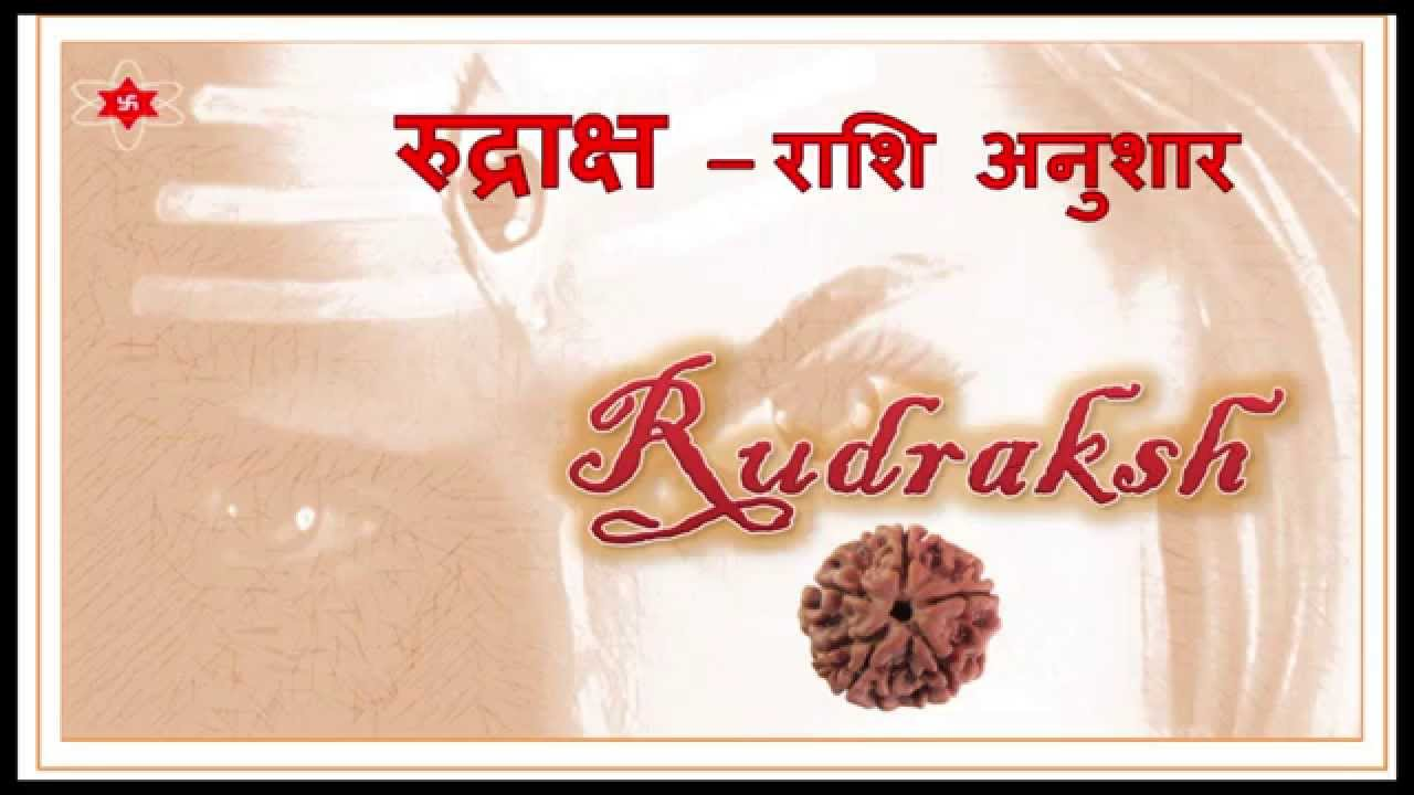 Zodiac signs and Rudraksha