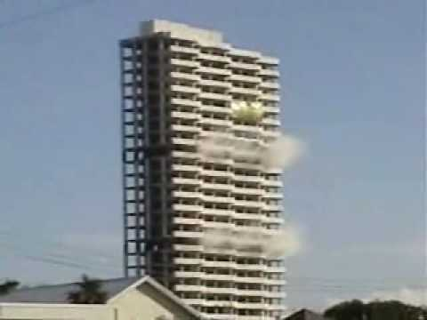 West Palm Beach Building Implosion