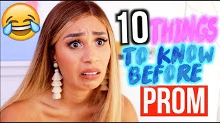 10 Things To Know Before Prom 2018! Makeup, Date Life Hacks + More 👑