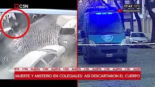 Una cámara registró el momento en que descartaron el cuerpo de una mujer en Colegiales