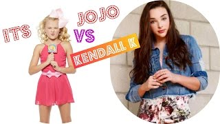 Kendall K VS Its JoJo Siwa musical.ly Compilation 2016 |Lip Sync Battle