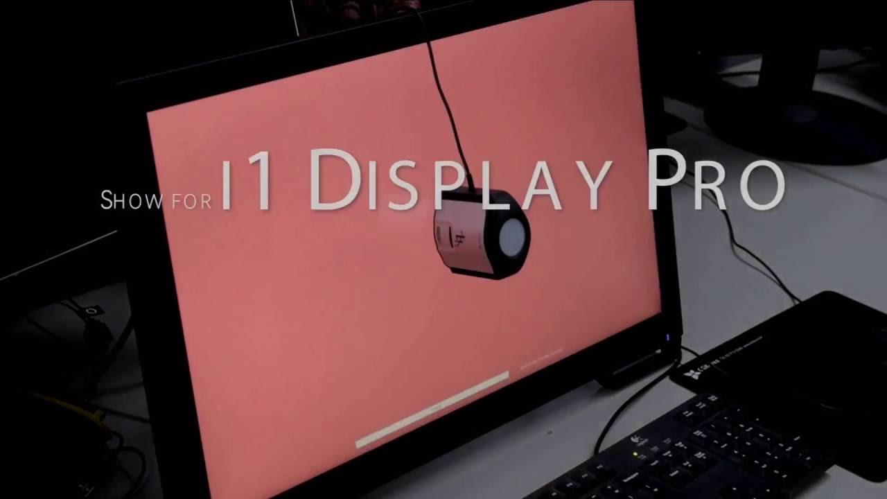 x-rite i1 Display Pro 사용법 - 모니터 칼리브레이션