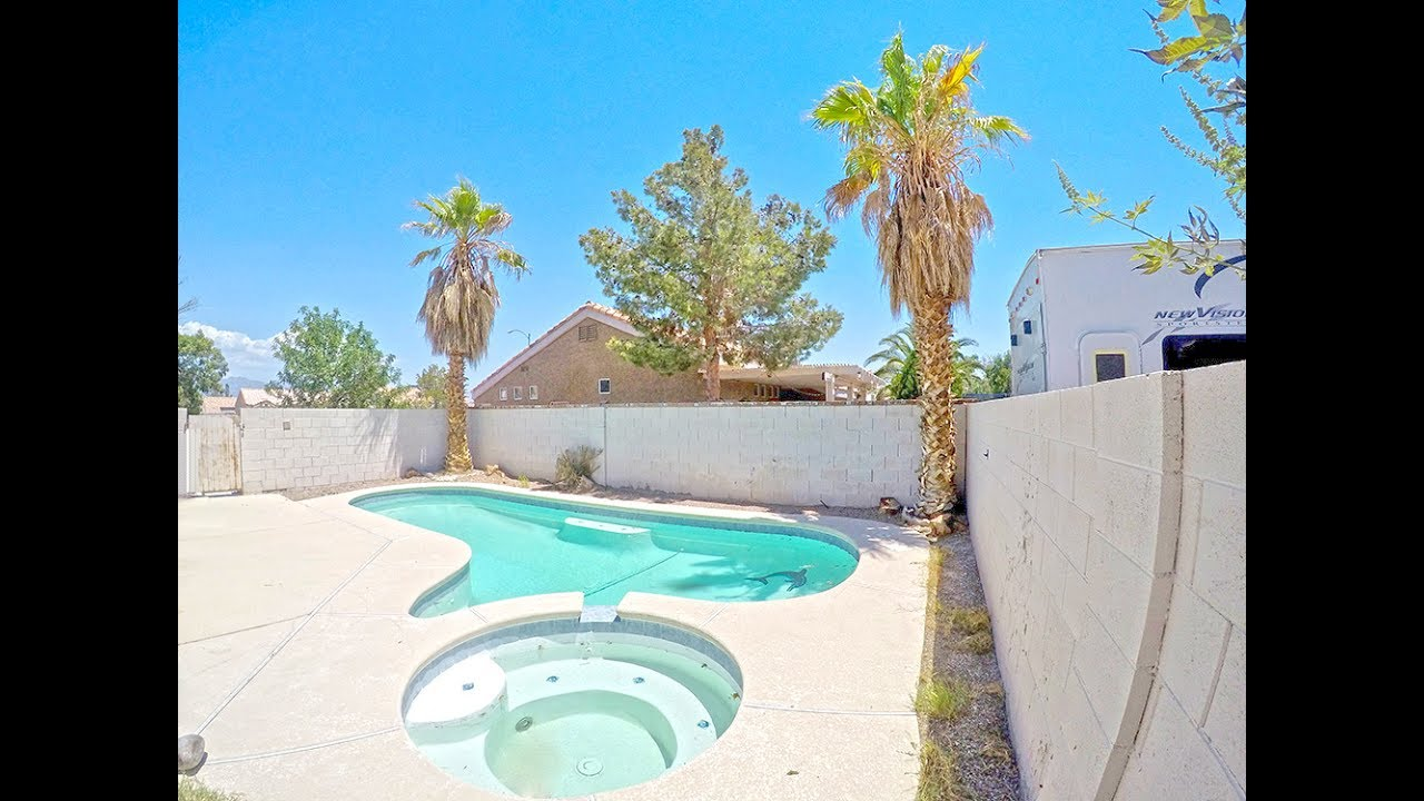 3217 Avawatz Ct North Las Vegas Nv Private Pool Home For Sale Single Story Youtube