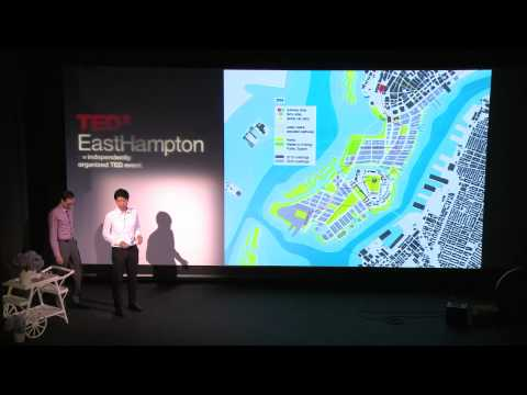 TEDxEastHampton - Luc Wilson & Muchan Park on the Bridge to Governor's Island