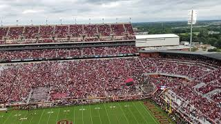 Parachute drop at Oklahoma vs Army