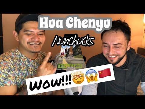 Singer Reacts  Hua Chenyu- Nunchucks