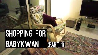 Shopping For #babykwan - Furniture (vlog #88)