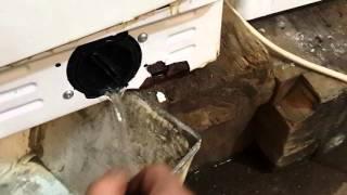 видео индезит как почистить фильтр