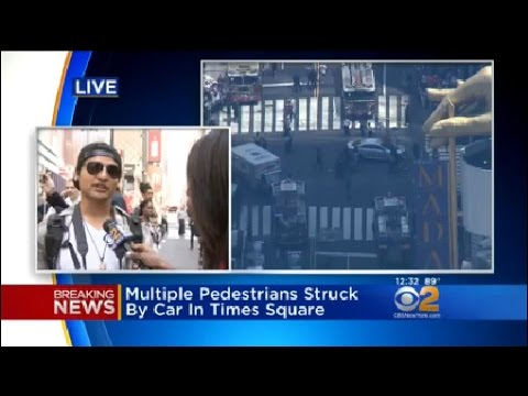 Witness Describes Times Square Crash