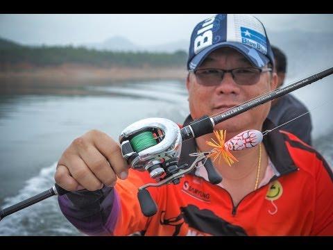 ตกปลาช่อน ตีกระสูบ ที่เขื่อนศรี TRY Fishing Tackle  ( Ver.Uncut )