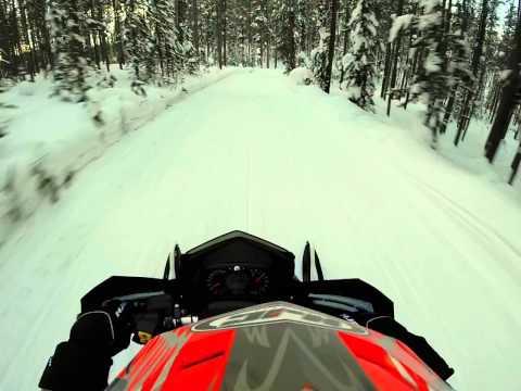 Snowmobile Trail Ride - Montana/Idaho Border