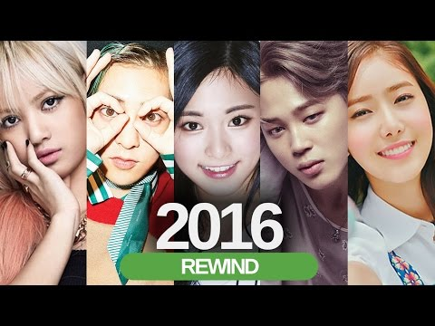 KPOP REWIND 2016 - In less than 4 Minutes    Part 1 (Compilation)