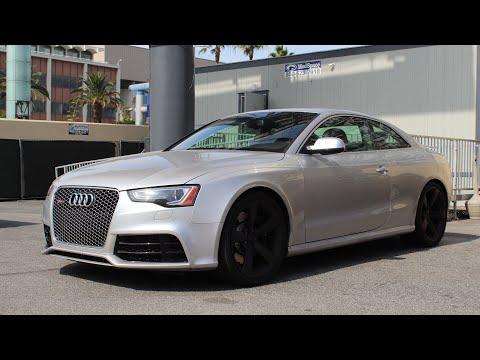 2014 Audi RS5 - POV Drive - Santa Monica