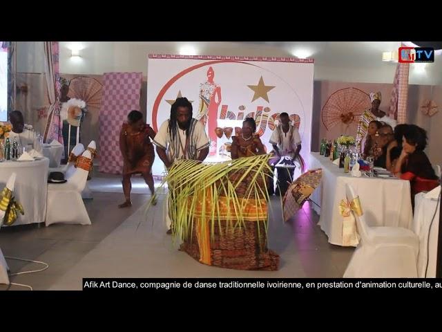 Afrik Art Dance au Dîné Gala du Festival Abidjan Pagne