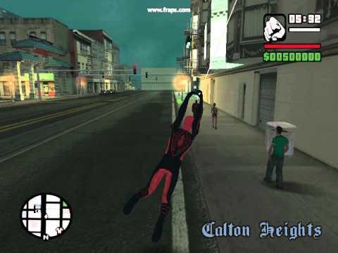 скачать мод на Spider Man для Gta San Andreas - фото 11