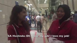 Day in a Life of a Service Ambassador at Bishan Circle Line Station