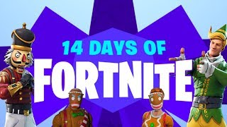 NEW 14 DAY LTM EVENT, CHRISTMAS SKINS EVERYDAY, SNOWBALL LAUNCHER IN FORTNITE