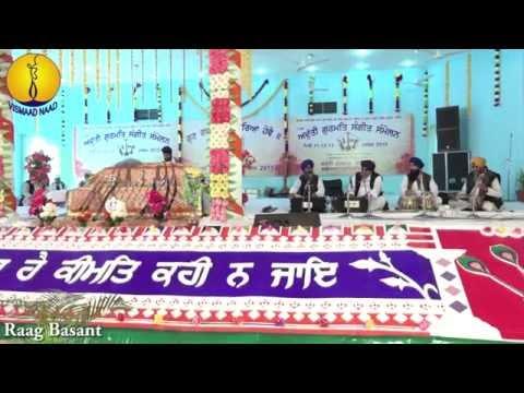 AGSS 2015: Raag Basant - Prof Gurdev Singh ji