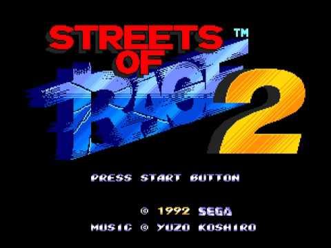 Streets of Rage 2 Soundtrack - Boss Battle (Never Return Alive)