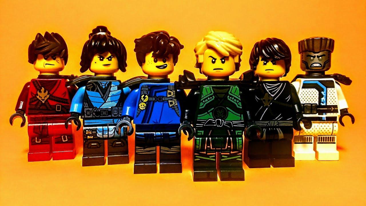Download My Lego Ninjago Ninja Collection!