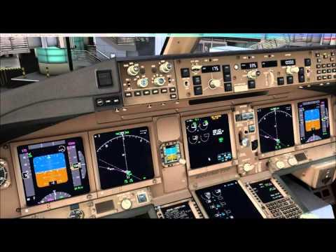 Czech Holidays-PMDG 777- Doha to Prague Pt1