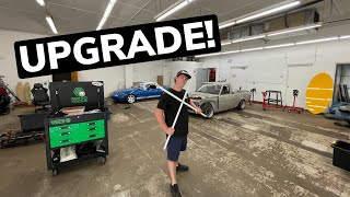 homepage tile video photo for FIRST BIG SHOP UPGRADE!