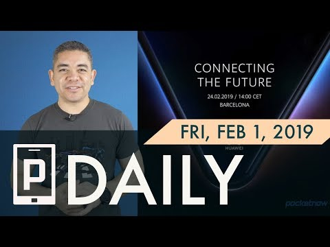 Huawei foldable phone teased, iPhone FaceTime fix & more  - Pocketnow Daily Mp3