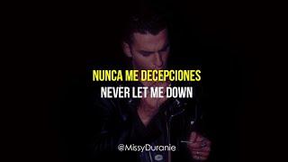 Depeche Mode - Never Let Me Down Again - Subtitulada Español - Inglés