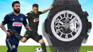 Which Watch: Rolex, AP, or Hublot? Professional Soccer Players Opinions