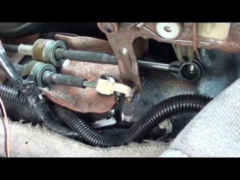 Saturn S-Series Manual Transmission Shifter Cable Replacement