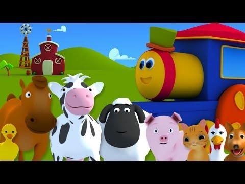 BOB EL TREN FUE A LA GRANJA | Bob, Farm Song