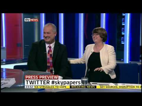Anna Botting: We know what Jacqui Smith watches on telly (with Iain Dale) #SkyPapers