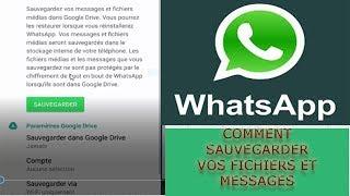 WhatSapp: comment sauvegarder et archives vos fichiers médias et messages