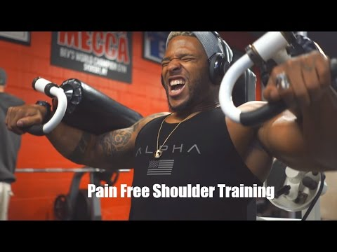 How To Grow Shoulders Without Pressing | terron beckham