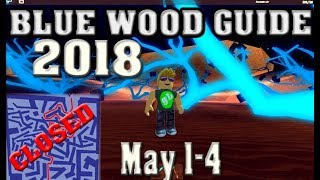 Roblox Lumber Tycoon 2 Blue Wood Maze Guide Road Map - 01.05.2018
