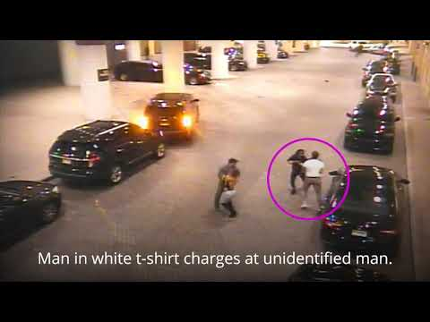 Highlights of security video of incident allegedly involving Atlantic City Mayor Frank Gilliam