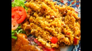 Arroz con Gandules |  Rice and Pigeon Peas