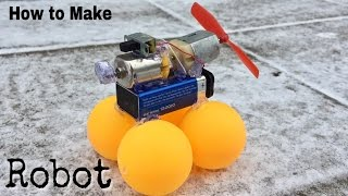 How to Make a Crazy Robot at Home - Very Simple