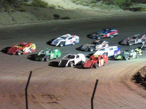 Desert Thunder Raceway Modified  Heat Races 9/29/17