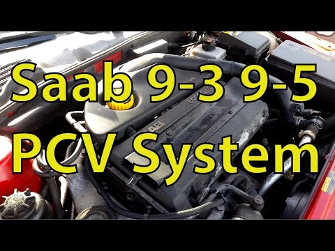saab 9 3 and 9 5 checking the pcv system version trionic seven rh youtube com Saab 900 SE Engine Diagram Saab 900 Engine Diagram