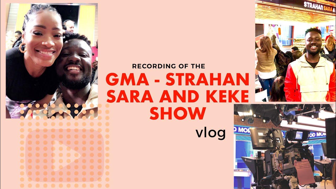 Download MEETING KEKE PALMER!! Studio recording of GMA3 - Strahan Sara & Keke Day time show