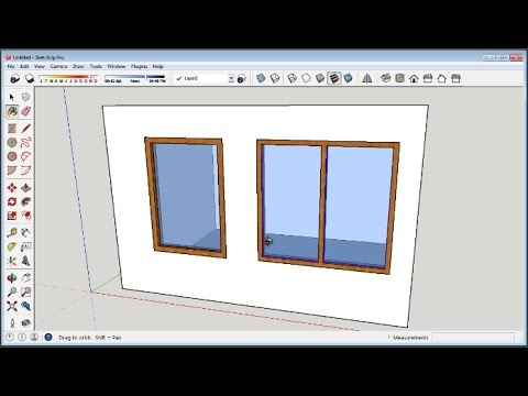 sketchup-how-to-make-windows