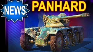Kołowy Panhard pierwszy gameplay - World of Tanks