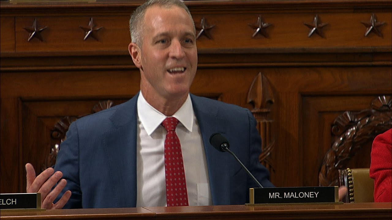 Rep. Maloney gets Sondland to say investigations would benefit ...