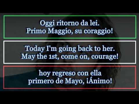 Ti Amo Umberto Tozzi Lyrics English Spanish Italian Youtube