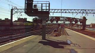 A Wemyss Bay train enters platform 10 at Glasgow circa 2009