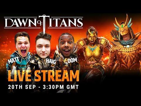 DAWN OF TITANS LIVE | THE INFERNO